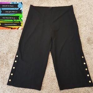 🆕️Who What Wear Black Snap Legs